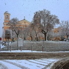 NUORO ,Santa Maria della Neve sotto la neve! Santa Maria, Beautiful Islands, Outdoor, Snow, Islands, Gold, Sardinia, Italy, Outdoors