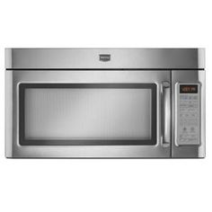 Maytag, 1.8 cu. ft. Over the Range Convection Microwave in Stainless Steel with Sensor Cooking, MMV6180WS at The Home Depot - Mobile
