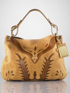 I absolutely love this Ralph Lauren handbag - wow!