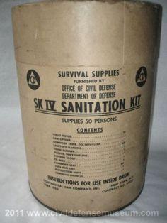 Old Civil Defense Sanitation Kits  http://preparednessadvice.com/sanitation/old-civil-defense-sanitation-kits/#.U_-SV_ldWPQ