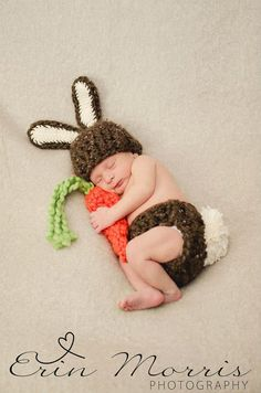 Crochet Baby Bunny Hat Newborn Photo Props 19 Ideas For 2019 Spring Newborn Photos, Newborn Pictures, Baby Pictures, Easter Pictures, Crochet Bebe, Crochet Baby Hats, Baby Knitting, Newborn Crochet Outfits, Knitting Ideas