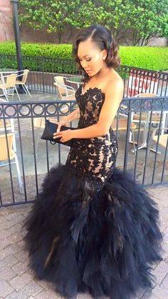 Elegant Prom Dresses, Sweetheart Lace Appliques Mermaid Black Sleeveless Tulle Ruffles Puffy Ptom Dress Shop for La Femme prom dresses. Elegant long designer gowns, sexy cocktail dresses, short semi-formal dresses, and party dresses. Puffy Prom Dresses, Black Girl Prom Dresses, African Prom Dresses, Homecoming Dresses, Bridesmaid Dresses, Formal Dresses, Wedding Dresses, Prom Couples, Ruffles