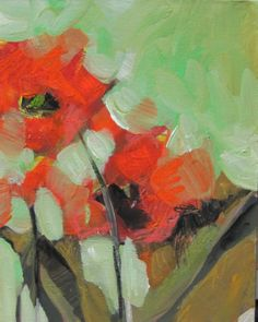 Jill Van Sickle, Two Tulips 11x14 $220