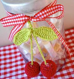 Anleitung für gehäkelte Vitamine #cherrylove #crochetlove