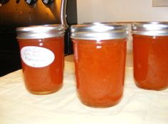 Grapefruit Marmalade - can also be a refrigerator marmalade without being processed