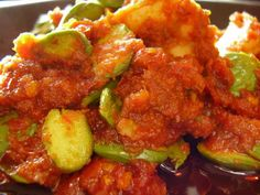 "Sambal Udang Petai from Malaysian cookbook ""Blame it on Granny"". Malaysian food is no 1!"