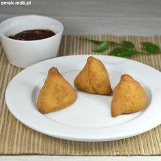 Pierożki samosa z Pendżabu ( Punjabi Samosa ) Punjabi Samosa, Samosas, Indian Dishes, Garam Masala, Curry, Ethnic Recipes, Food, Curries, Essen