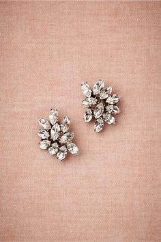 marquee crystal earrings | bhldn.