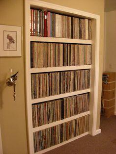 Record closet