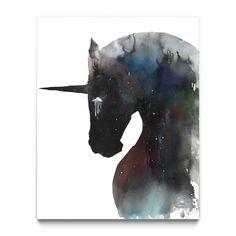 Dark Unicorn--Eyes on Walls
