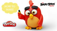 The Angry Birds Movie - Play Doh Making Cute Baby Red, When He was Happy