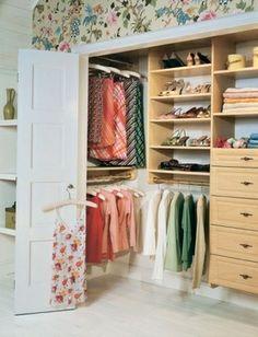 Reach-in Closets  closet