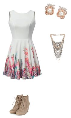 """""""Violetta's Style"""" by carla-mia-cano-hede on Polyvore featuring Tom Binns and Anabela Chan"""