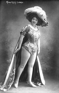 Music Hall performer Kitty Lord. Music Halls were the working class alternative to the theatre. Acts were varied and included comedians, singers, dancers, magicians and stuntmen. Female performers were especially popular with audiences and were renowned for their use of innuendo in their songs and routines.