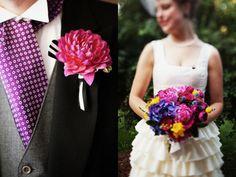 via ruffledblog.com Gorgeous bouquet!