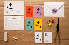 Mathematics by Marios Karystios Corporate Identity, Corporate Design, Brand Identity, Branding, Smiley, Mathematics, Design Inspiration, Graphic Design, Vertical