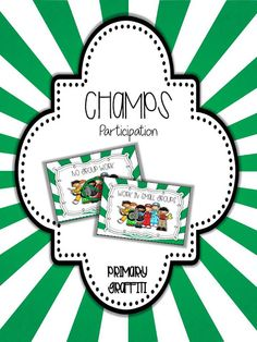 50 pages of CHAMPs aligned posters. Two sizes! Includes Voice Levels, CHAMPS letters, Subjects, Help Needed, and Movement Objectives. Champs Behavior Management, Behavior Management System, Classroom Behavior Management, Classroom Procedures, Organization And Management, Student Behavior, School Classroom, Classroom Organization, Classroom Ideas
