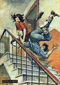 Dramatic Vintage Illustrations by Walter Molino
