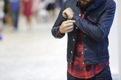 Flannel Shirt and Denim