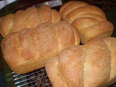 whole wheat bread with freshly ground flour