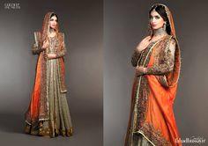 Fahad Hussayn Digital Printed Silk Embroidered Collection 2015-16 | StylesGap.com
