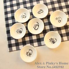 Aliexpress.com: Comprar 1 unid platos japoneses platillo merienda bandeja de la fruta bandeja placas de dibujos animados bandeja para servir de bandeja de tela fiable proveedores en ALEX & PINKY'S HOME