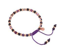 Lola Rose Portobello Bracelet with Purple Persian Agate | Venusi Jewels