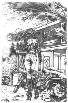 ☆ Pencilled Page -::- Artist Mike Krome ☆