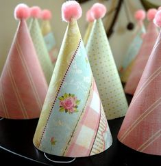 Give Dollar Store Party Hats a Makeover