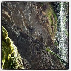 #waterfall #beach #cantabria #summer