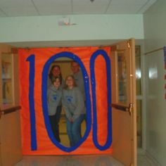 100th day of school with teacher friends!