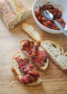 tomaat-aubergine tapenade