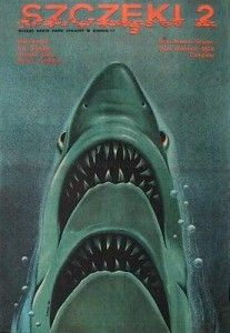 Polish poster for JAWS 2
