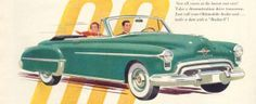 50s, oldsmobile, cars