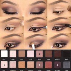 """Résultat de recherche d'images pour """"comment se maquiller les yeux marrons"""""""