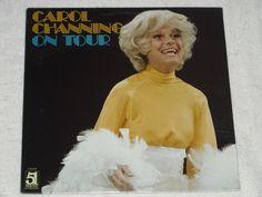 CAROL CHANNING On Tour (1979)  LP