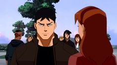 Young Justice. Connor aka Superboy