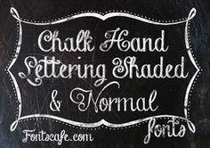 黒板に書いたチョークの質感を表現したフリーフォント素材まとめ