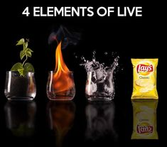 The four elements of life...