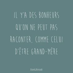 Il y a des bonheurs qu'on ne peut pas raconter, comme celui d'être grand-mère #etregrandmereestunechance #fieredetregrandmere #bonheur #grandmercredi