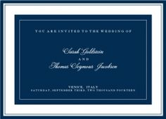 Choose your favorite Wedding inviation card design, customize it and invite to a single Wedding event or to multiple Wedding invitations, e.g. Rehearsal Dinner, Wedding Ceremony, Wedding reception and Wedding brunch, including recipient monitoring and multi guest list maangement.