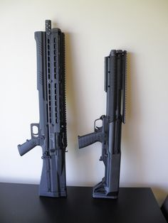UTS-15 shotgun and the Kel Tec KSG shotgun