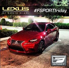 TGIF - #FSPORTfriday!  Lexus IS 350 FSPORT.  Another great instagram pic by our sales associate Fransisco Aguilera. Lexus Cars, Tgif, Dream Cars, Bmw, Sexy, Instagram