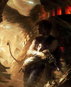 """Shadows of Tatooine"" by Raymond Swanland- Paper (17"" x 22"") $165.00  ""Shadows of Tatooine"" by Raymond Swanland  CLICK SECOND IMAGE FO..."