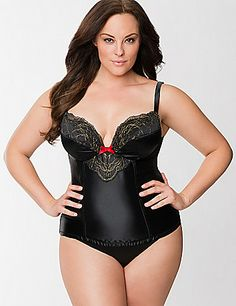 Shimmer embroidered corset