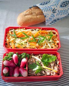 Deconstructed Banh Mi Sandwich Bento