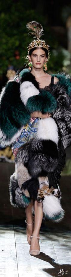 Fall 2015 Couture Dolce & Gabbana - Alta Moda