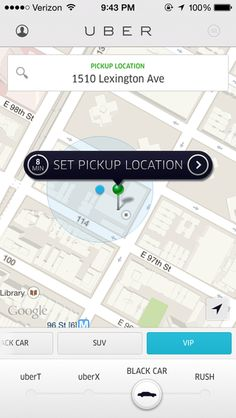 how to use uber mobile app
