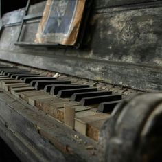 Abandoned piano                                                                                                                                                                                 More