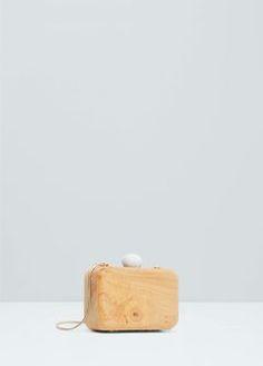 Wood clutch